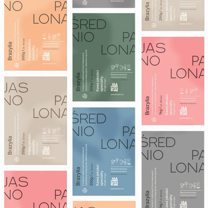 JNS Coffee branding and packaging by Valentin Nogues for Wide Vision.