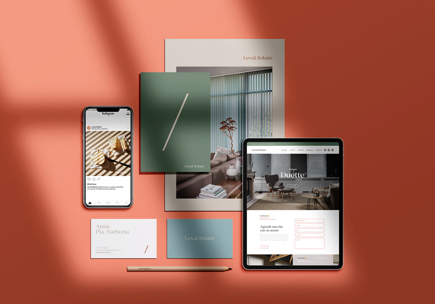 Leval Solare Brand & Web Design by Bunker3022