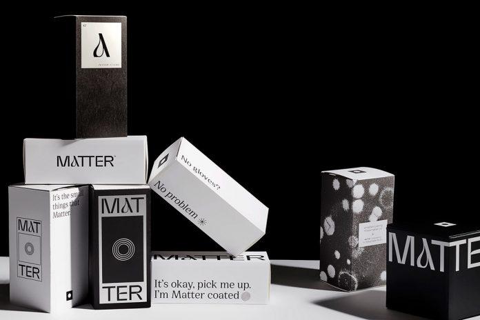 Matter Antimicrobial Coating branding by Designsake Studio