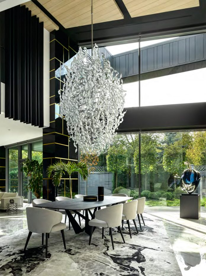 Silver Pine, SAOTA's first completed architectural project in Russia.