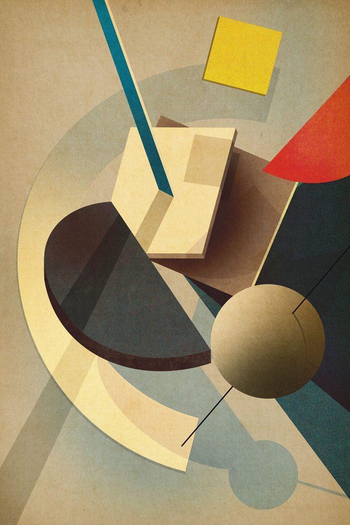 Composition No. 4 - Poster Art by Studio Sander Patelski