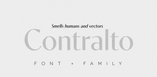 Contralto font family by Synthview Type Design.