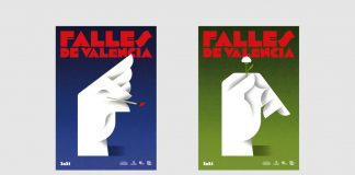 Graphic identity of Fallas 2021 by Fase studio and Diego Mir.
