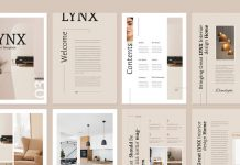 Lynx Brochure Template by GraphicArtist