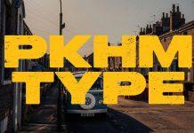 Peckham Press font by Ellen Luff