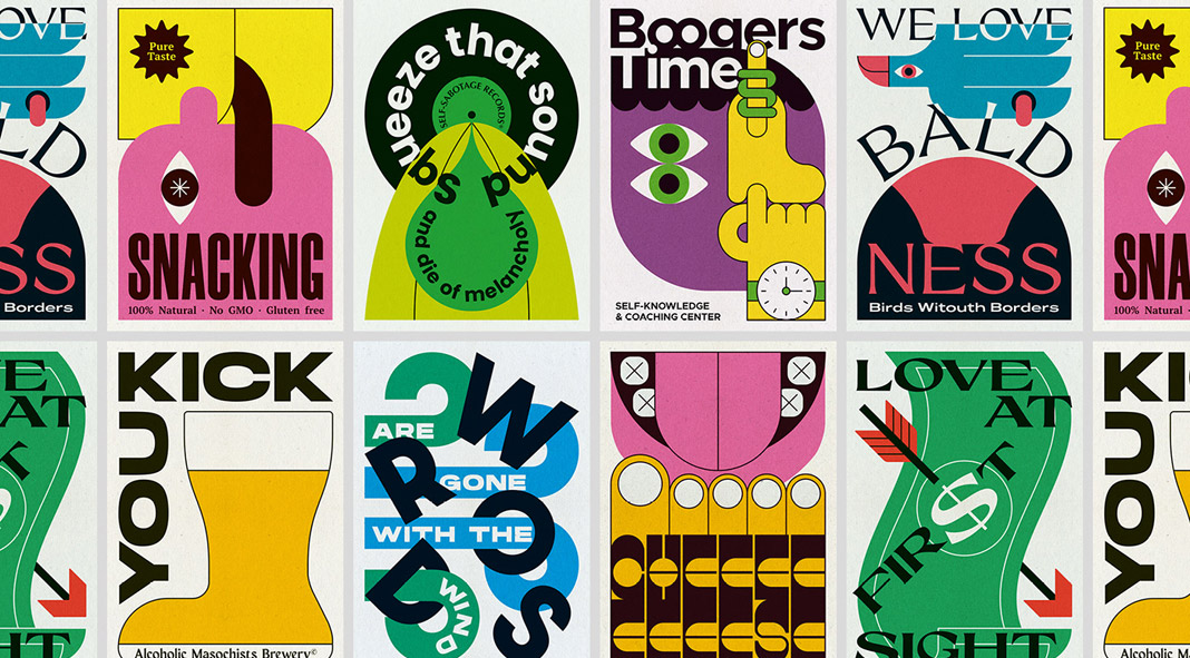 Poster collection by Mario Carpe