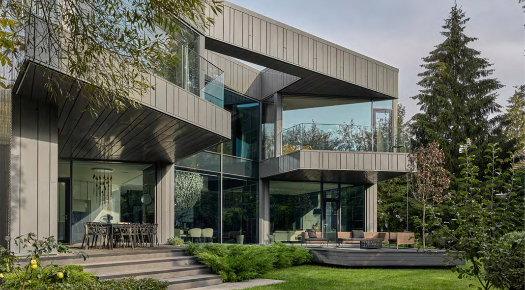 Silver Pine in Moscow, Russia by Architecture Firm SAOTA