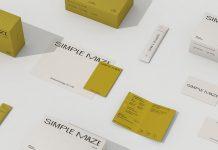 Simple Maze brand identity by tao STUDIO.