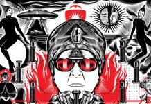 TOMO77 creates album artwork for DEVO's GERALD CASALE new release.