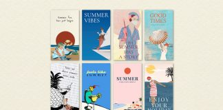 Vintage Instagram Summer Quote Story Templates