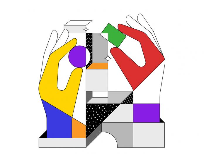 Designit Brand Illustrations by Justina Leisyte.