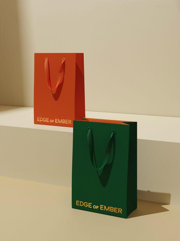 Edge of Ember branding by Kati Forner.
