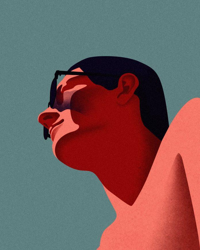 Summer illustration by Domagoj Šokčević