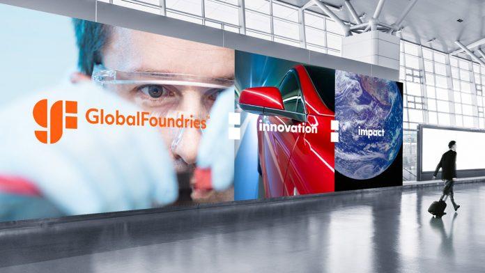 GlobalFoundries billboard