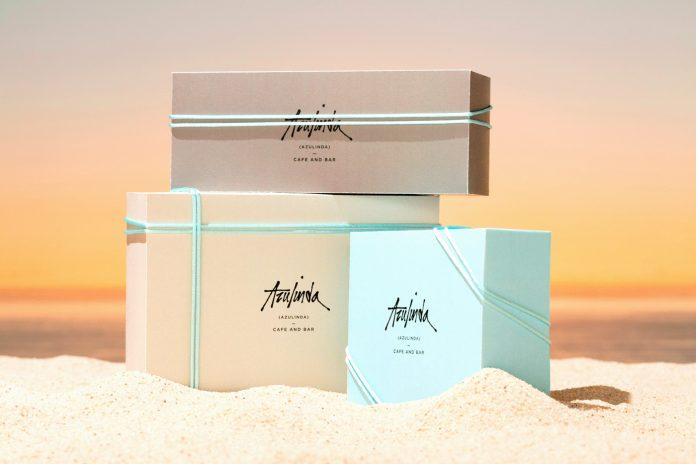 Azulinda branding by Anagrama Studio