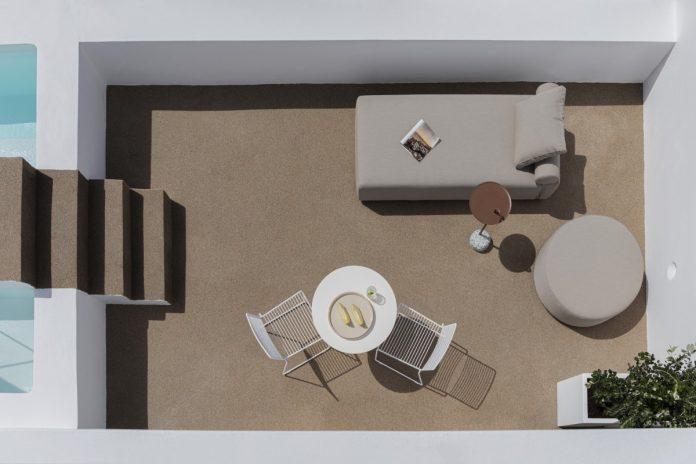Santorini, Greece, Summer Residence in Imerovigli II by Kapsimalis Architects