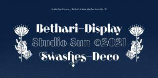 Bethari Display Font by Studio Sun