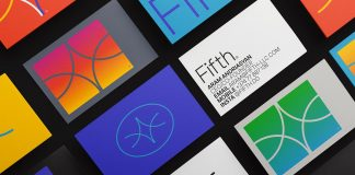 Branding by Hueso Studio for design and software development company Fifth.