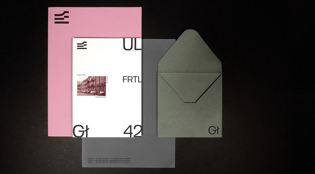 Fyrtel Główna branding by Jakub Haremza