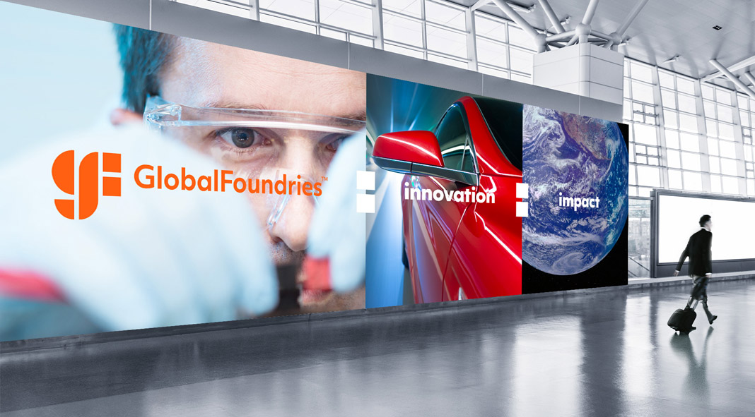 GlobalFoundries launched a new visual identity designed by Siegel+Gale.