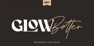 Glow Better font by Ergibi Studio