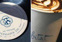 Habitat café branding by Sıla Özyıldız.