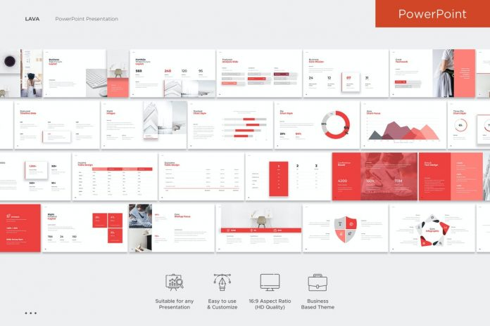 Lava PowerPoint Template