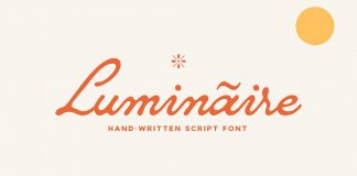 Luminaire Script Font by Any-Type