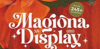 Magiona Display Font by Dora Typefoundry