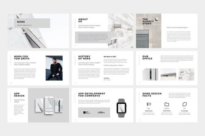 NORS PowerPoint Template