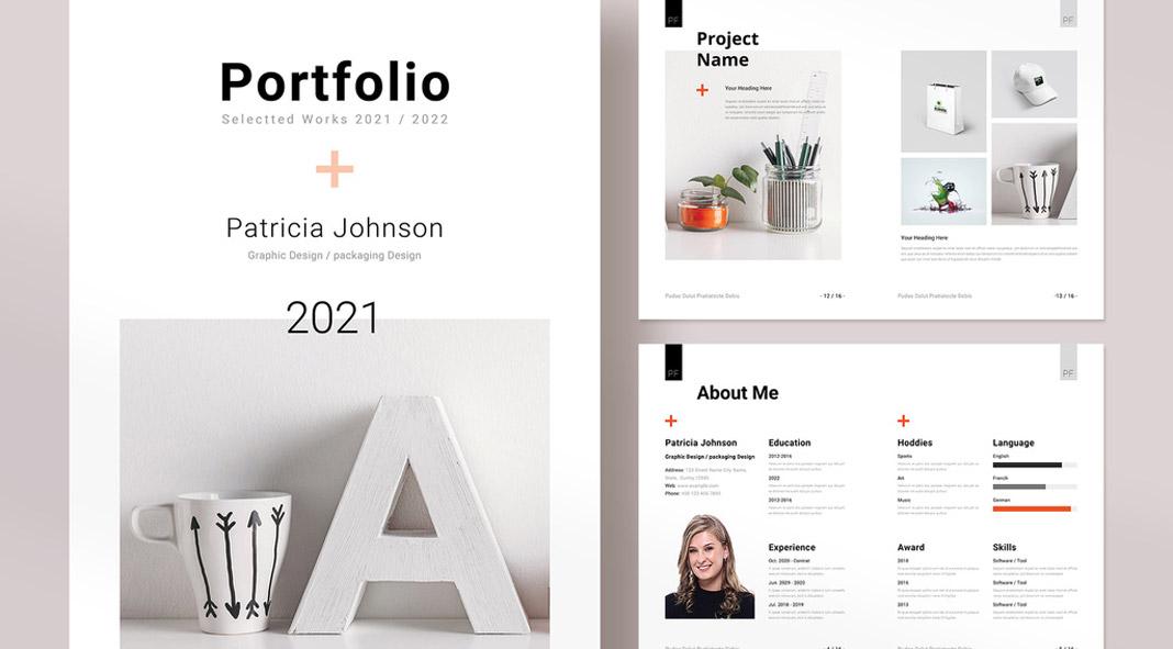 Portfolio InDesign Template by PixWork