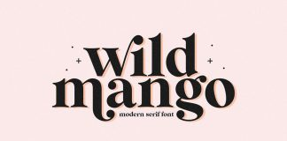 Wild Mango font by KA Designs