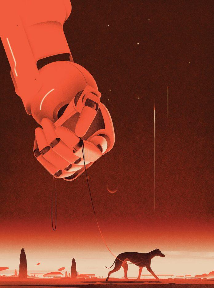 A Postcard From Mars by Karolis Strautniekas