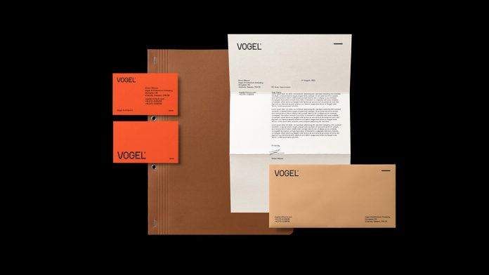 VOGEL® Architects - Brand Identity by cantone studio