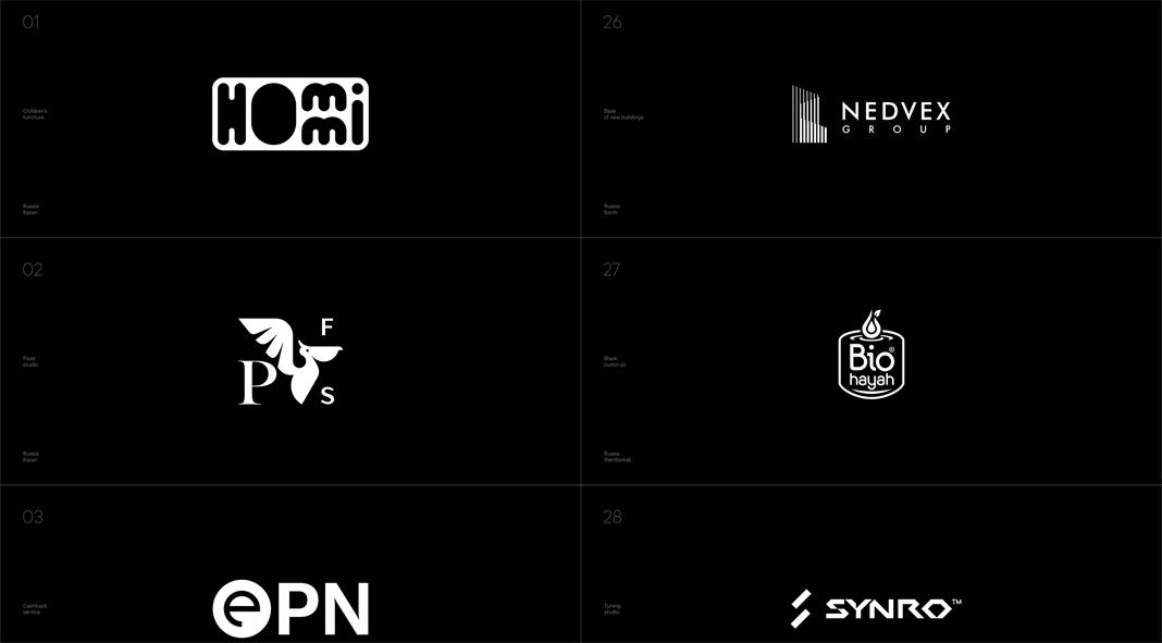 50 logos in one year by Artur Sagitov