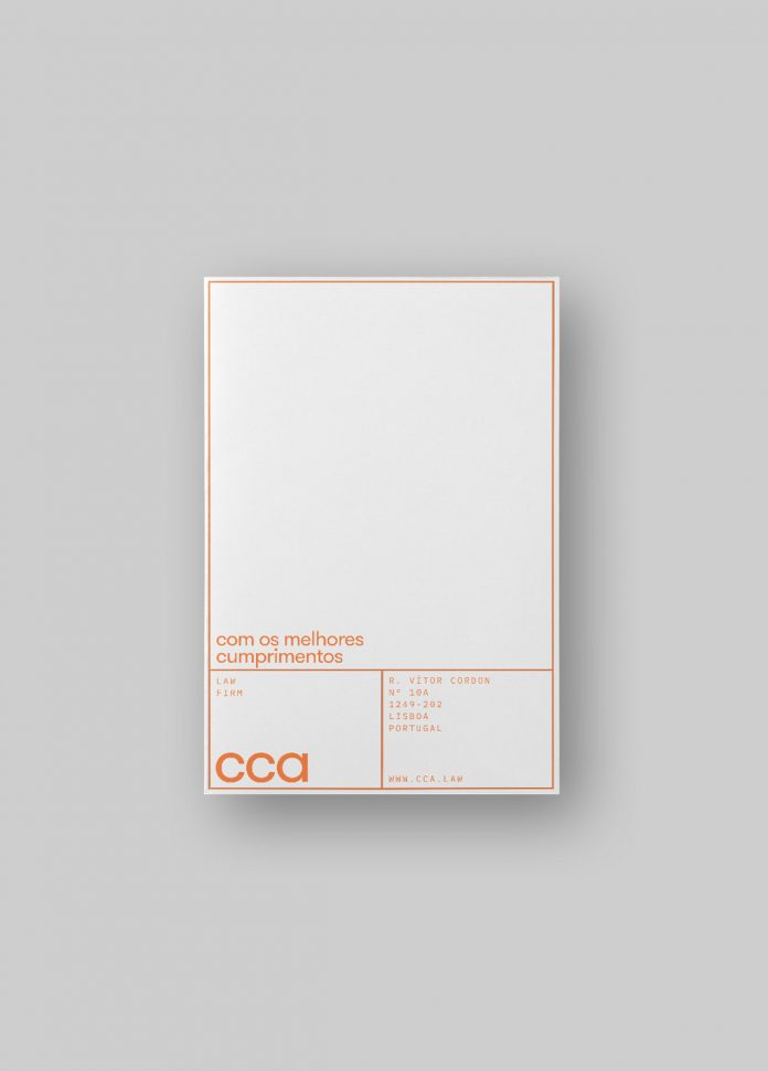 CCA Law firm branding by VOLTA Brand Shaping Studio