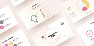 Adobe InDesign Business Plan Presentation Template