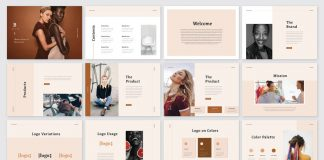 Brand Identity Guidelines Brochure Template by GraphicArtist