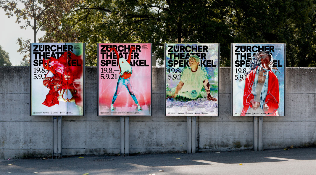 Campaign and Visual Communication by Studio Marcus Kraft for Zürcher Theater Spektakel
