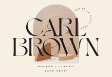 Carl Brown font by Muntab_Art