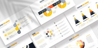Infographics Presentation Template by PixWork for Adobe InDesign