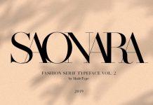 MADE SAONARA font by MadeType
