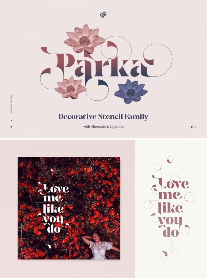 Parka Font Family by Creative Media Lab