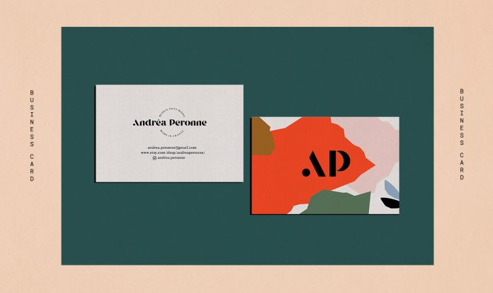 Brand identity by Charline Groën for Andréa Peronne