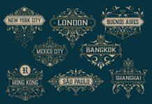 16 Vintage Vector Logo Designs by Roverto Castillo