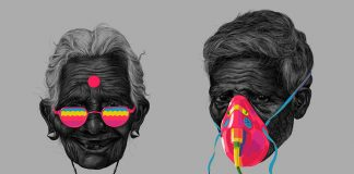 CMYK Portrait Experiments by Muhammed Sajid