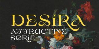 Desira font by Sarid Ezra
