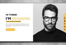 Interactive PDF Resume Template for Adobe InDesign