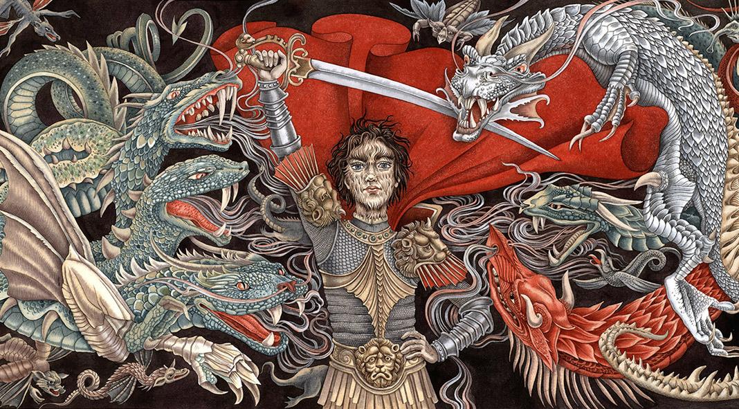 The True Adventures of Wolfboy - movie illustrations by Sveta Dorosheva