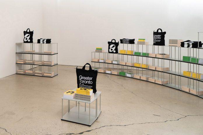 MOCA GTA21 exhibition identity by Blok Design